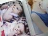 сборка фотоальбома в твердый переплет